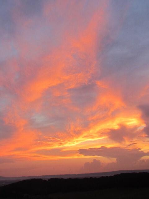 Fiery.Orange.Sunset
